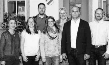 Der neu gewählte Ortschaftsrat in Neuweiler