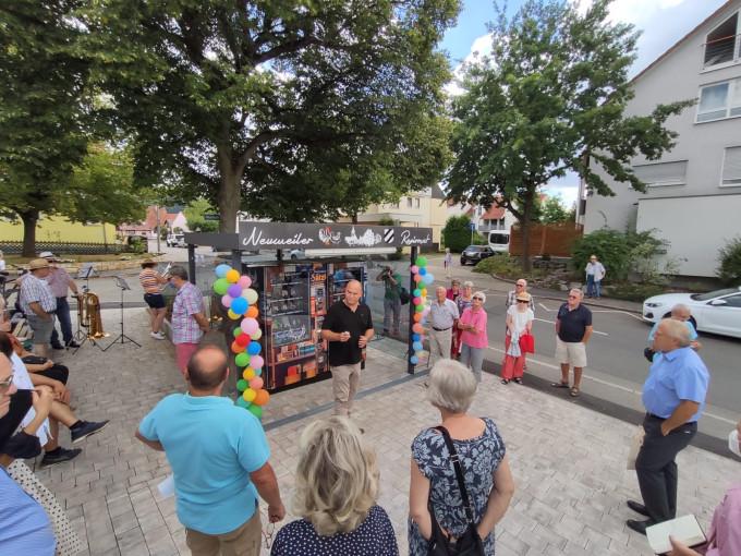 Der neue Regiomat in Neuweiler bietet ein reiches Sortiment an Lebensmitteln rund um die Uhr